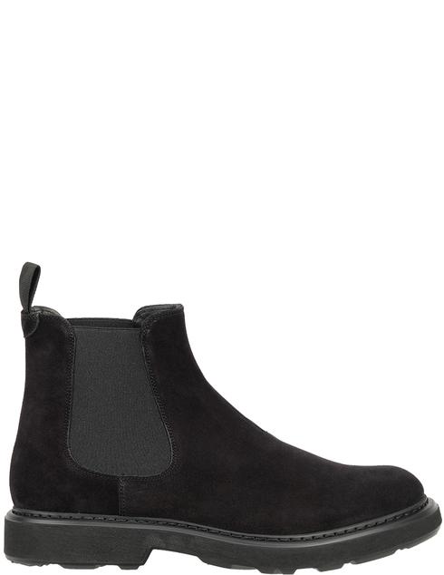 мужские черные замшевые Ботинки Emporio Armani X4M304XF053-00002 - фото-5