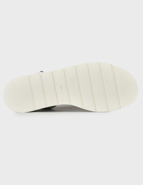 женские белые кожаные Босоножки Pertini 211W30943D2- - фото-5