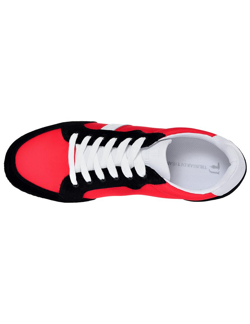 Фото 5 - мужские кроссовки  красного цвета