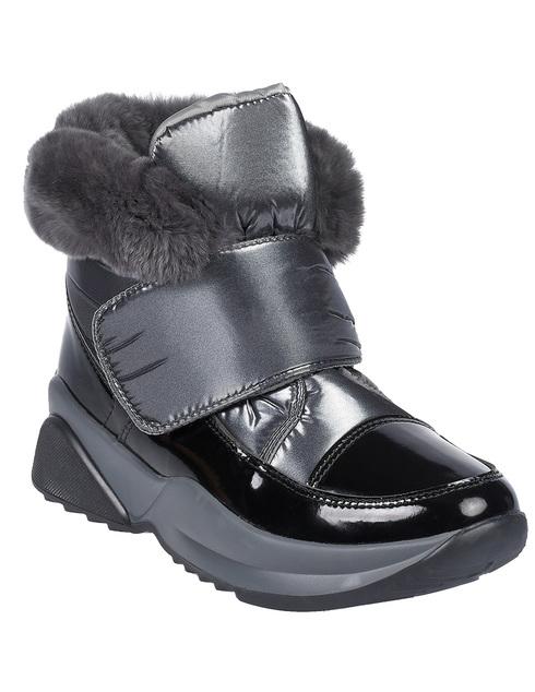 женские серебряные Ботинки Jog Dog 1608 - фото-2