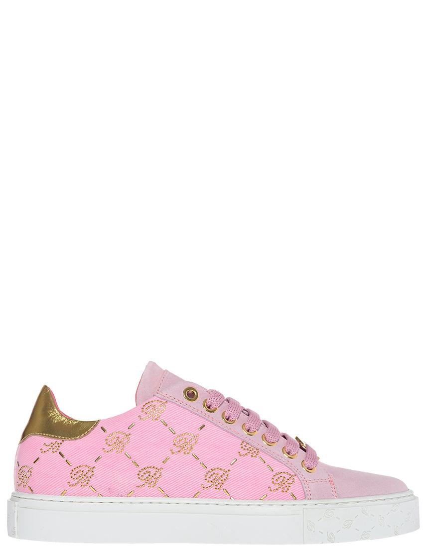 Женские кеды Blumarine 202_pink