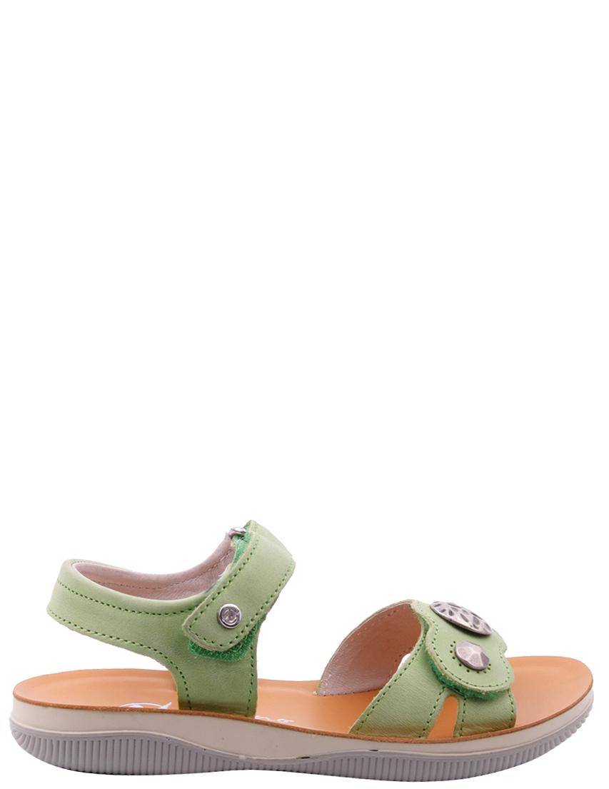 Детские босоножки для девочек NATURINO 5655-green