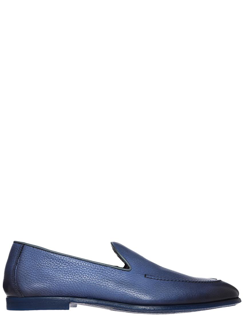 Фото - Мужские туфли DoucalS 1105_blue