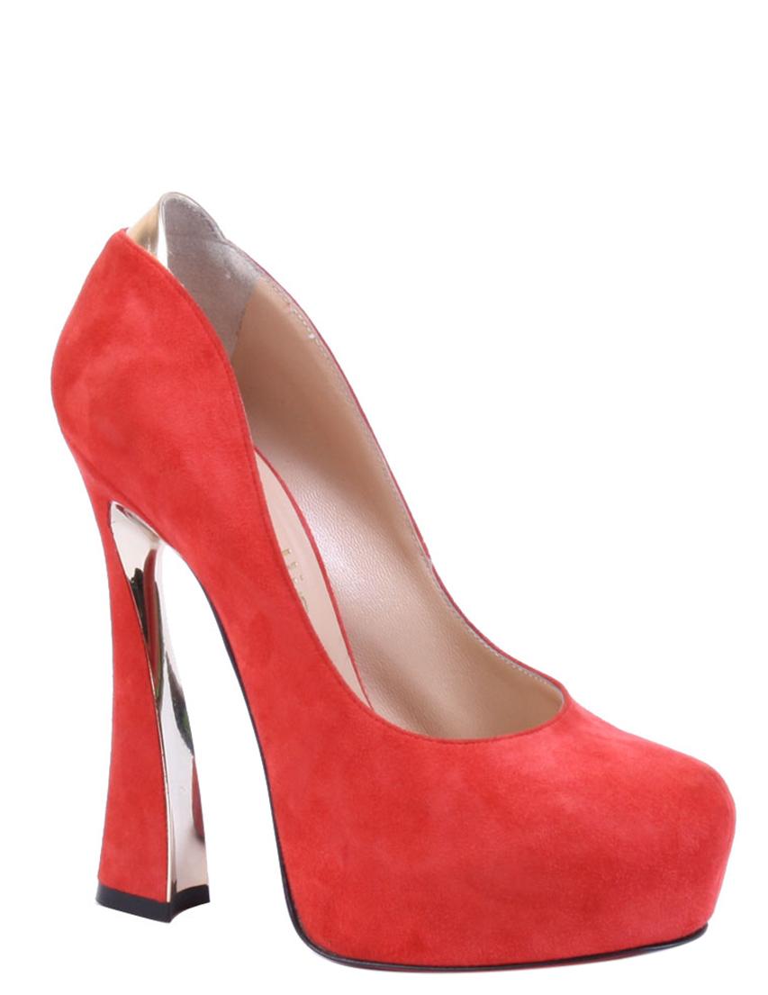 Купить Туфли, BALLIN, Красный, Весна-Лето