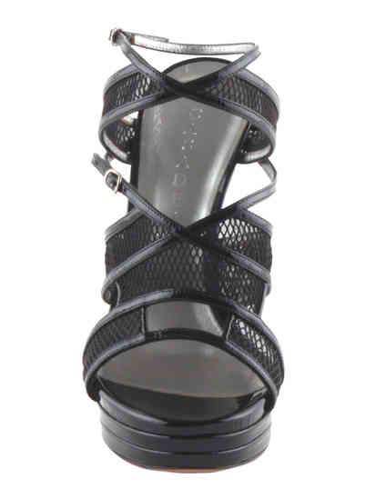 женские черные Босоножки Casadei 4180 - фото-6