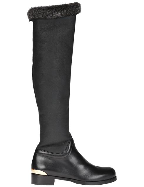черные Ботфорты Norma J.Baker 6546_black размер - 37