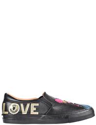 Женские слипоны Love Moschino 15183-black