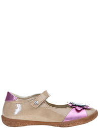 Детские туфли для девочек Naturino 4049-biege-pink_beige