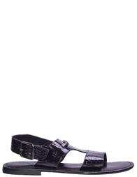 Мужские сандалии ALESSANDRO FARNESE S118F-black