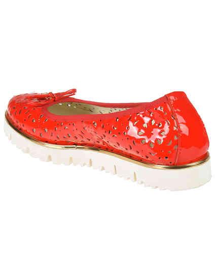 красные женские Балетки Luigi Traini 2000-117_red 3160 грн