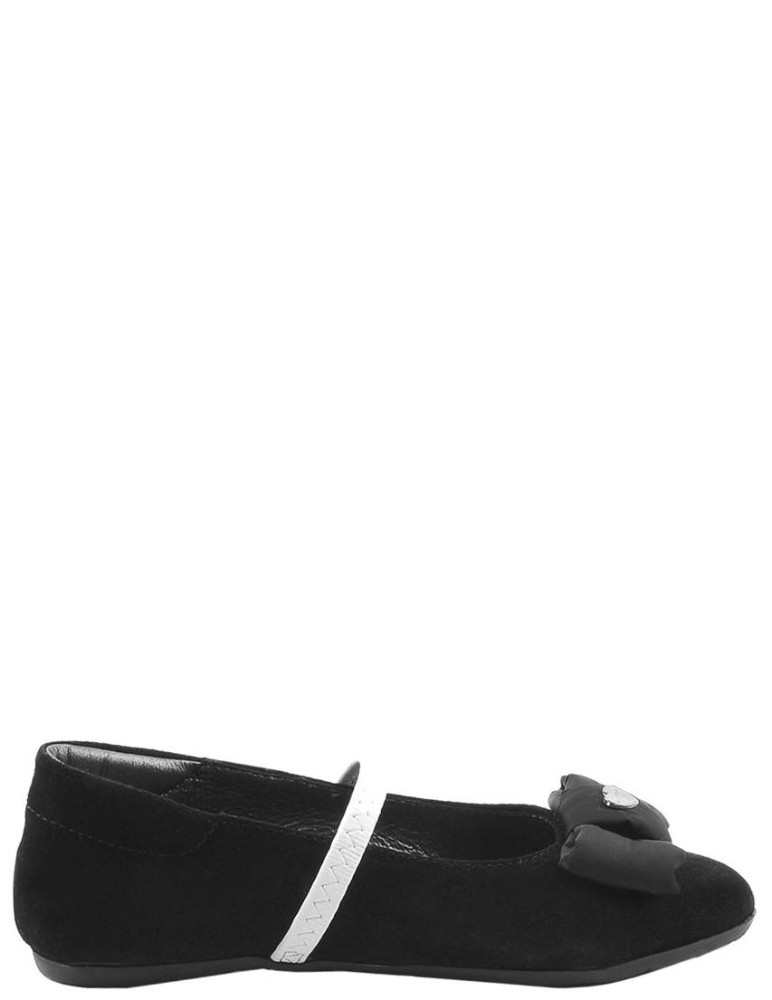 Детские туфли для девочек MOSCHINO 25188black