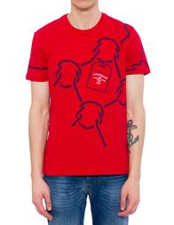 Мужская футболка HARMONT&BLAINE PI016020707-518