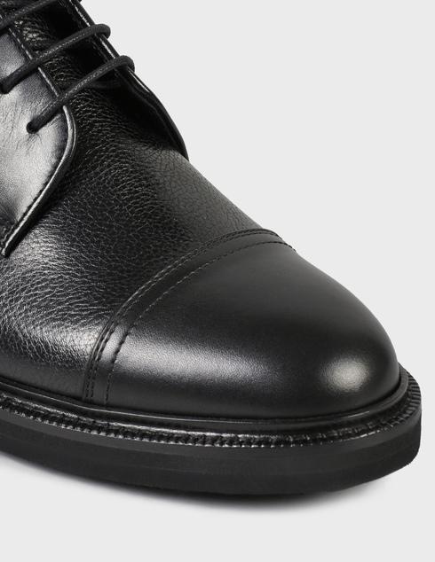 мужские черные кожаные Ботинки Henderson Baracco AGR-81521.BL.0 - фото-5