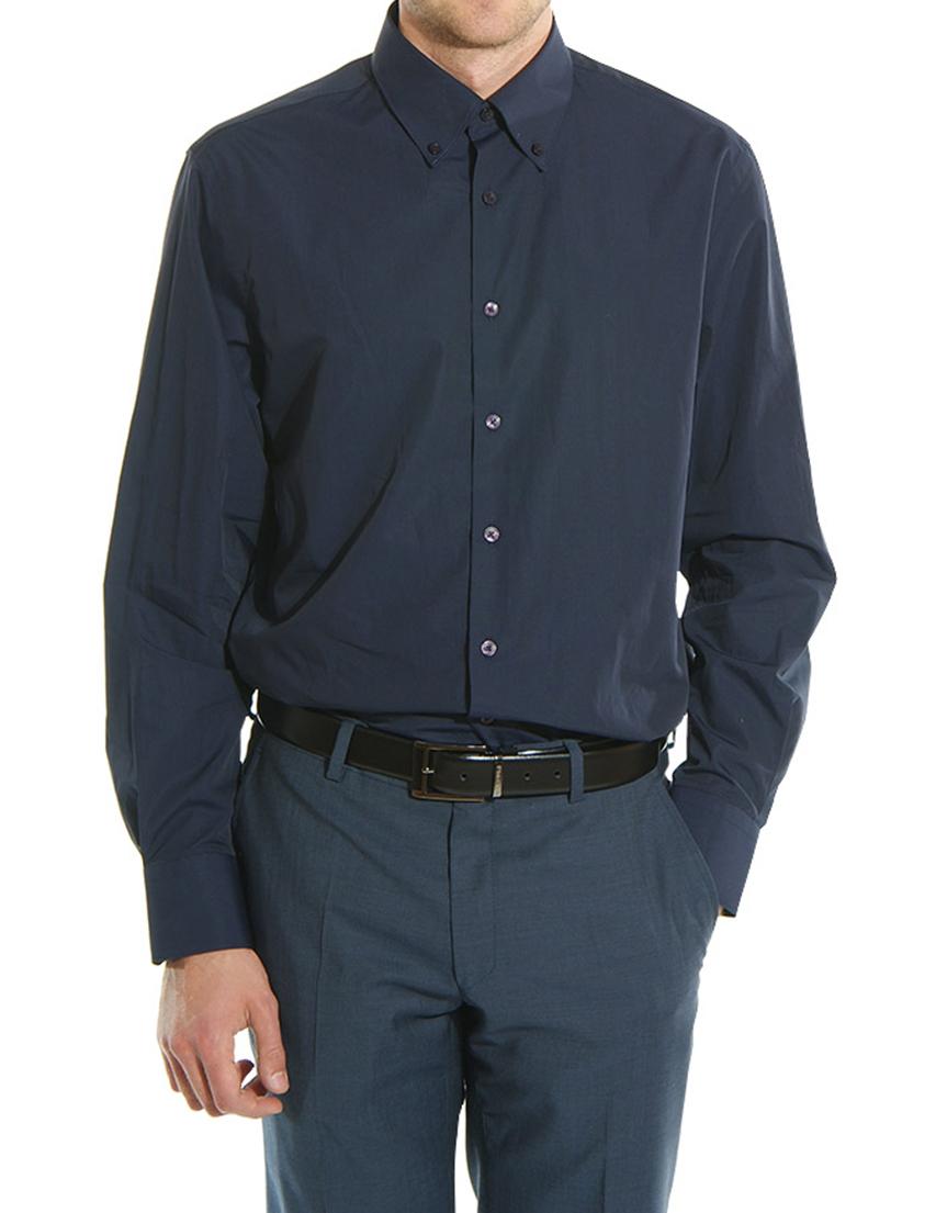 Купить Рубашка, GF FERRE, Синий, 100%Хлопок, Осень-Зима