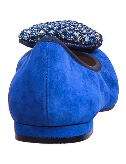 синие Балетки To Be Kuki_blue размер - 36
