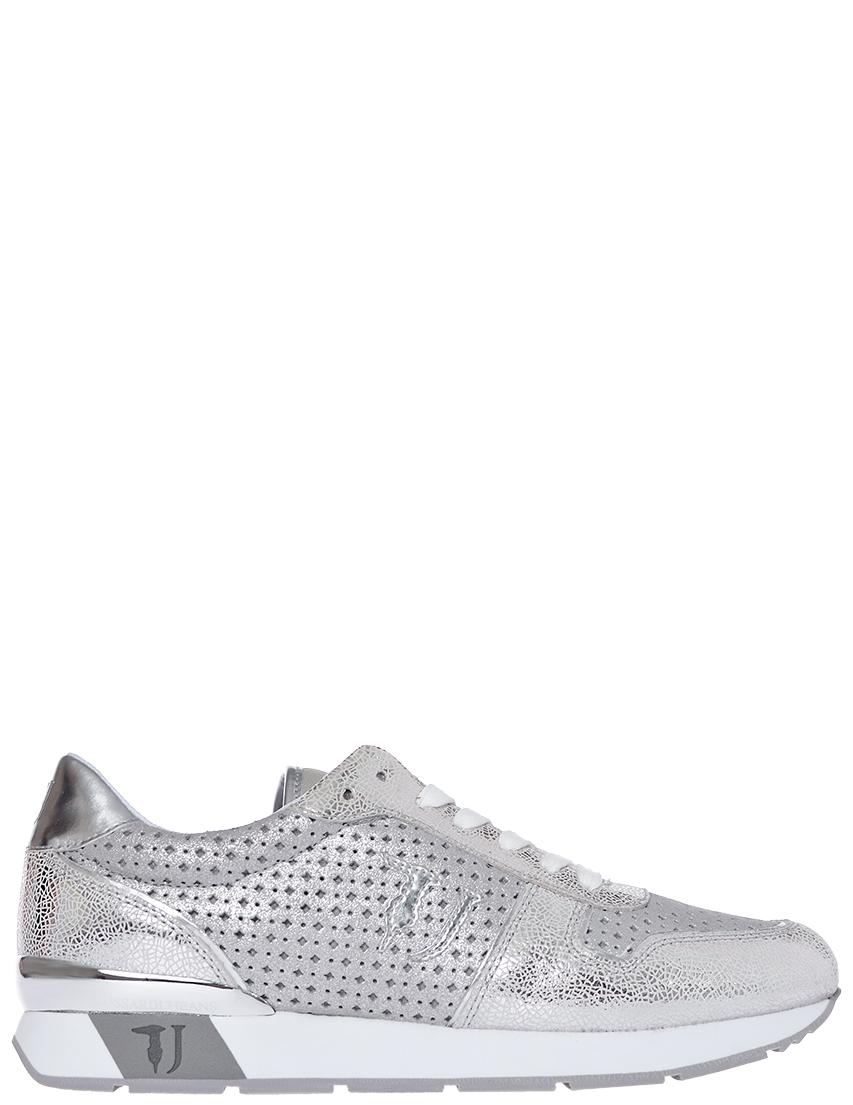 Фото - женские кроссовки  серебрянного цвета