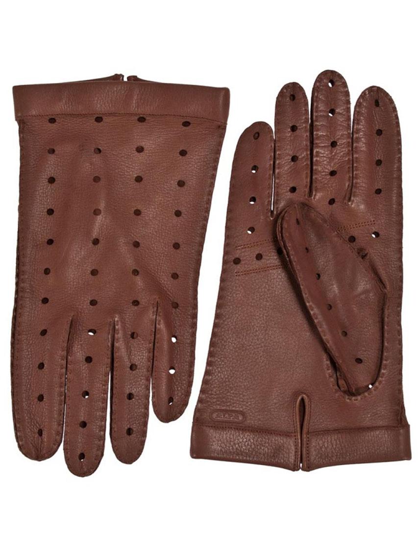 Мужские перчатки ALPA GLOVES 1217039-035midBrown