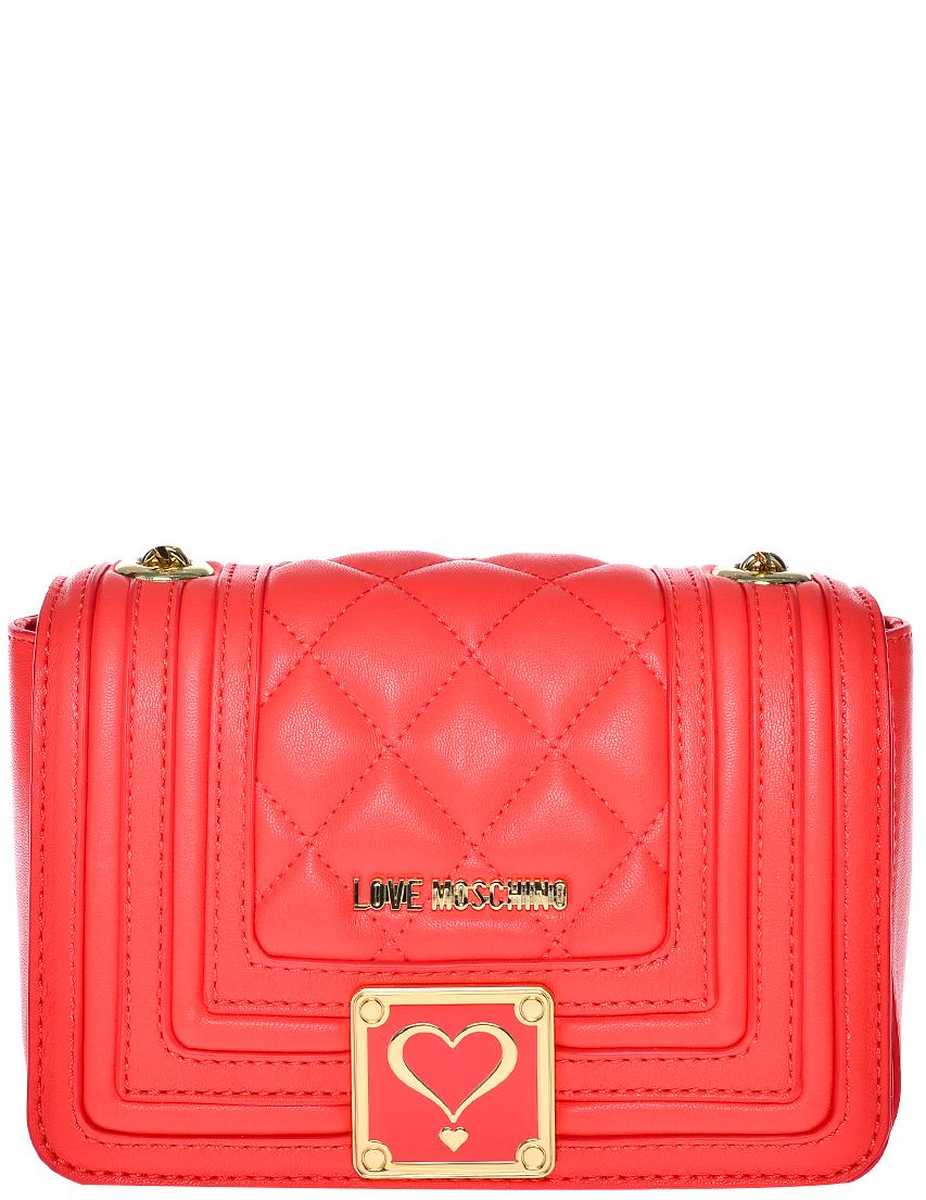 Фото - Женская сумка Love Moschino 4201_red