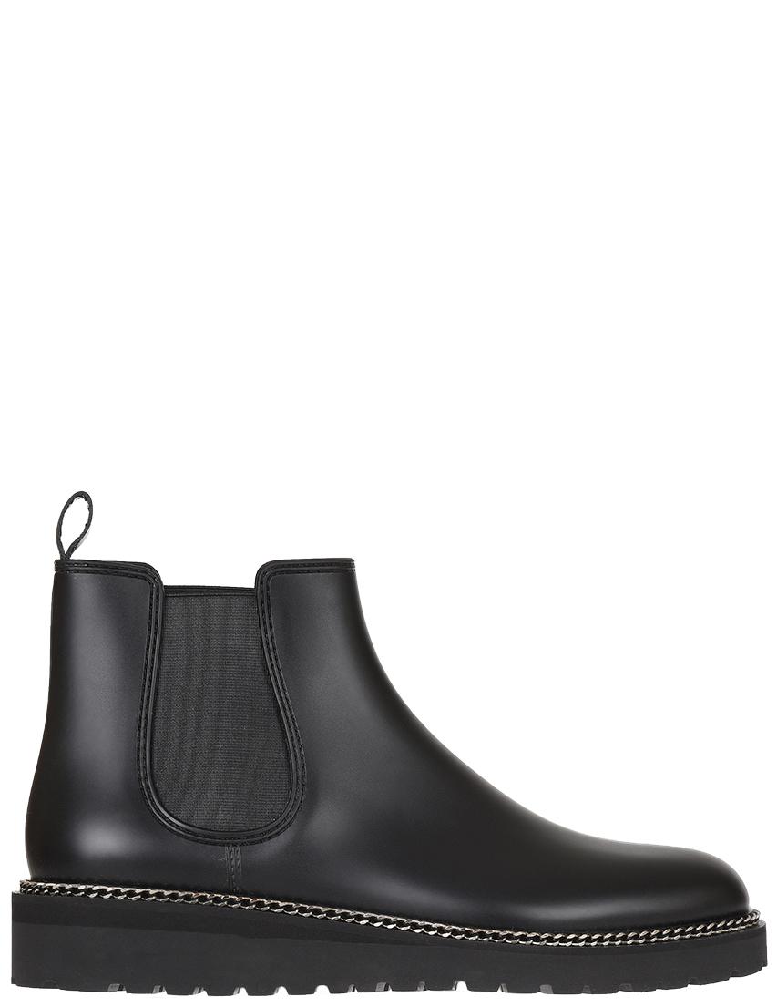 Женские ботинки Menghi 3637-GOM_black
