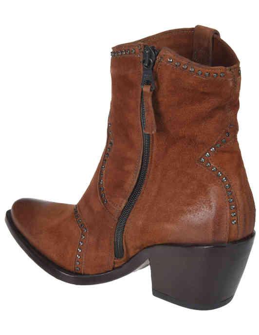коричневые женские Полусапоги MJUS 793243_brown 4984 грн