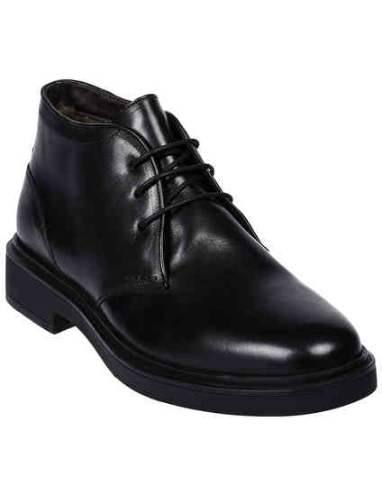 мужские черные Ботинки Brecos 9171 - фото-2