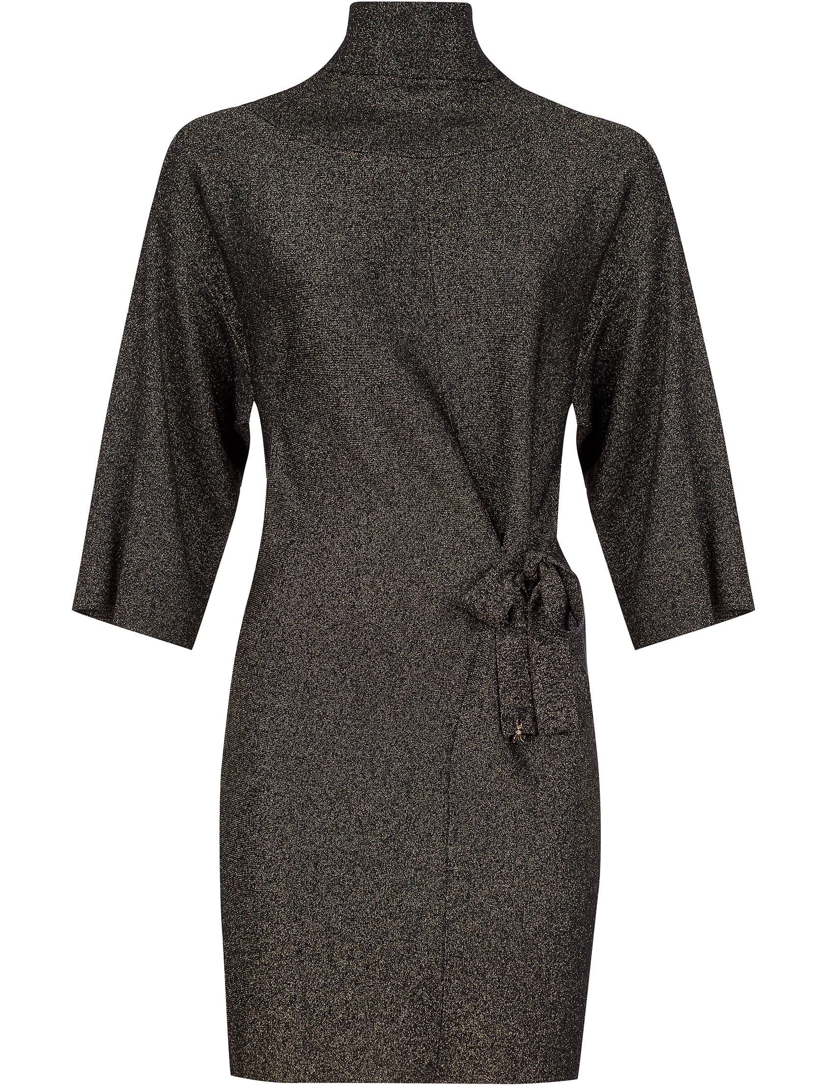 Купить Платья, Платье, PATRIZIA PEPE, Черный, 75%Вискоза 15%Полиамид 10%Полиэстер, Осень-Зима
