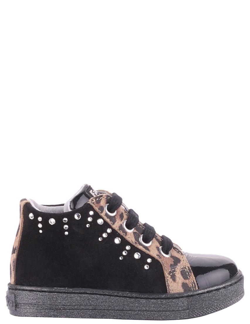 Детские кроссовки для девочек FALCOTTO 955black