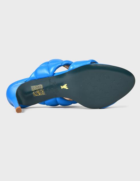 синие Шлепанцы Patrizia Pepe AGR-2VA174/A8X2-C859 размер - 40; 38