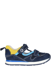 Детские кроссовки для мальчиков Naturino Perry-navy-sky-giallo_blue