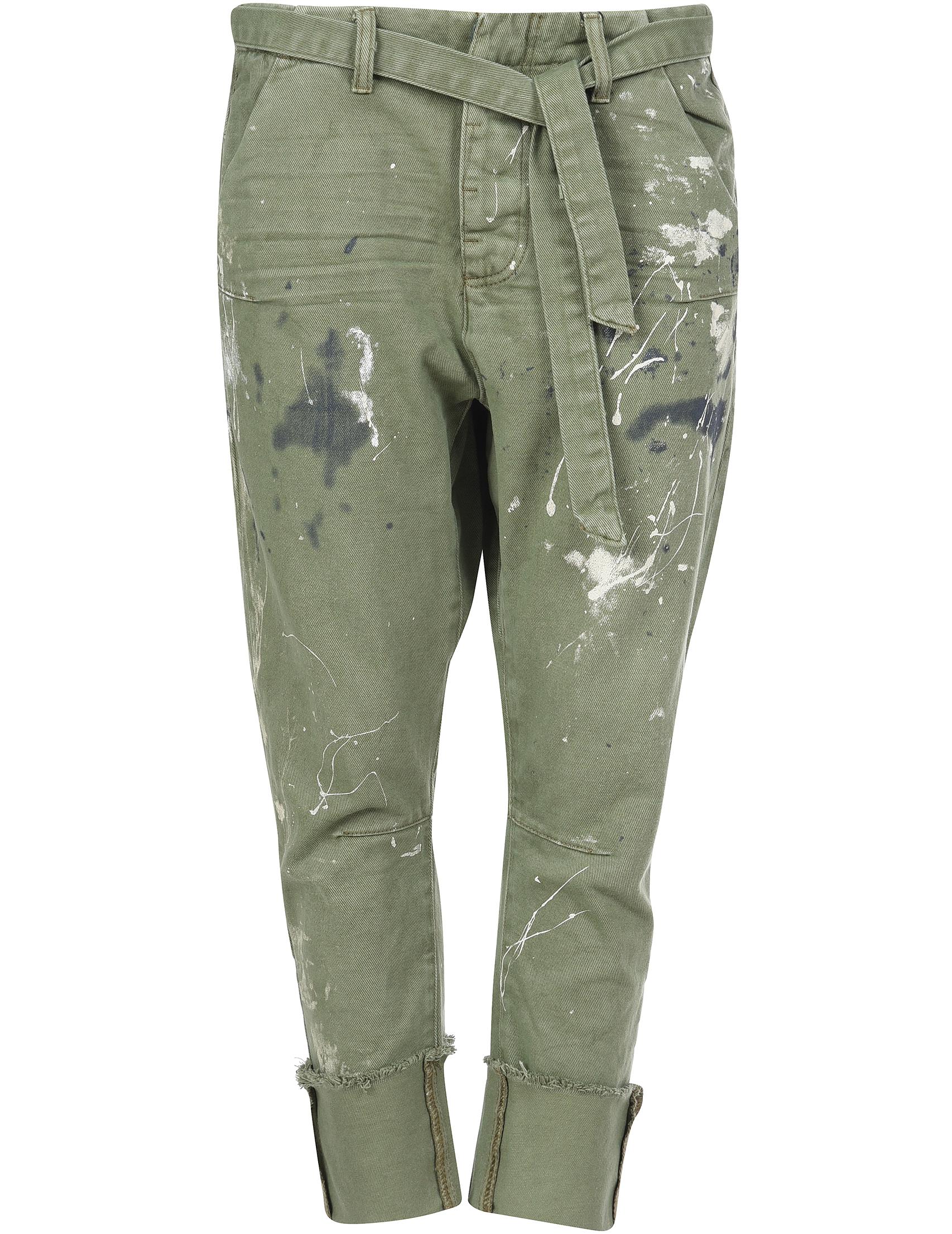 Женские джинсы ONETEASPOON 20935-ONE_green