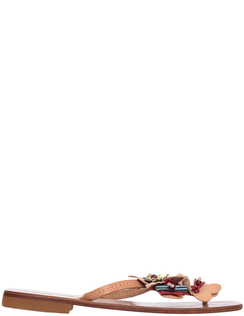 Детские шлепанцы для девочек Andrea Morelli CIA5116cuoio_beige