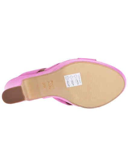 женские фиолетовые Босоножки Esther Collezioni Cris036_pink - фото-6