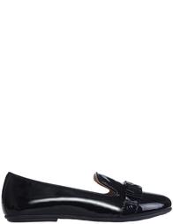 Детские туфли для девочек Moschino 25720-vernice-nero-black
