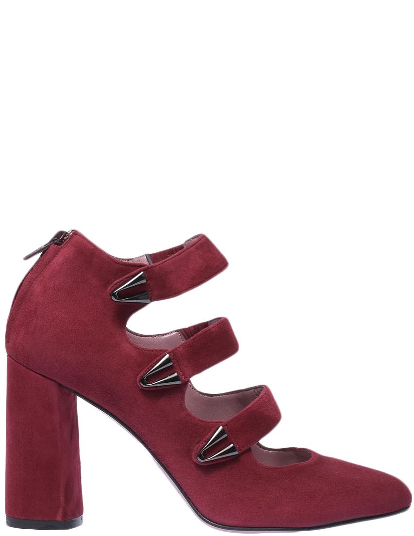 Туфли, ALBANO, Бордовый, Осень-Зима  - купить со скидкой