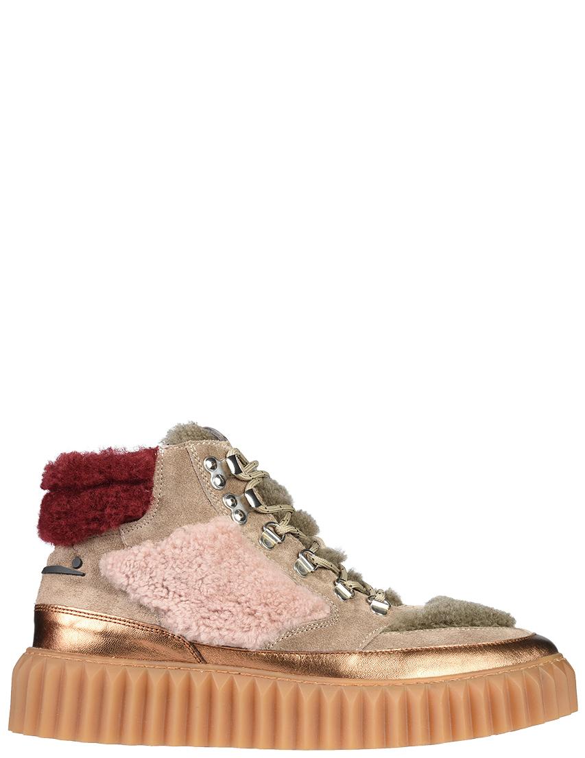 Купить Ботинки, VOILE BLANCHE, Бежевый, Осень-Зима