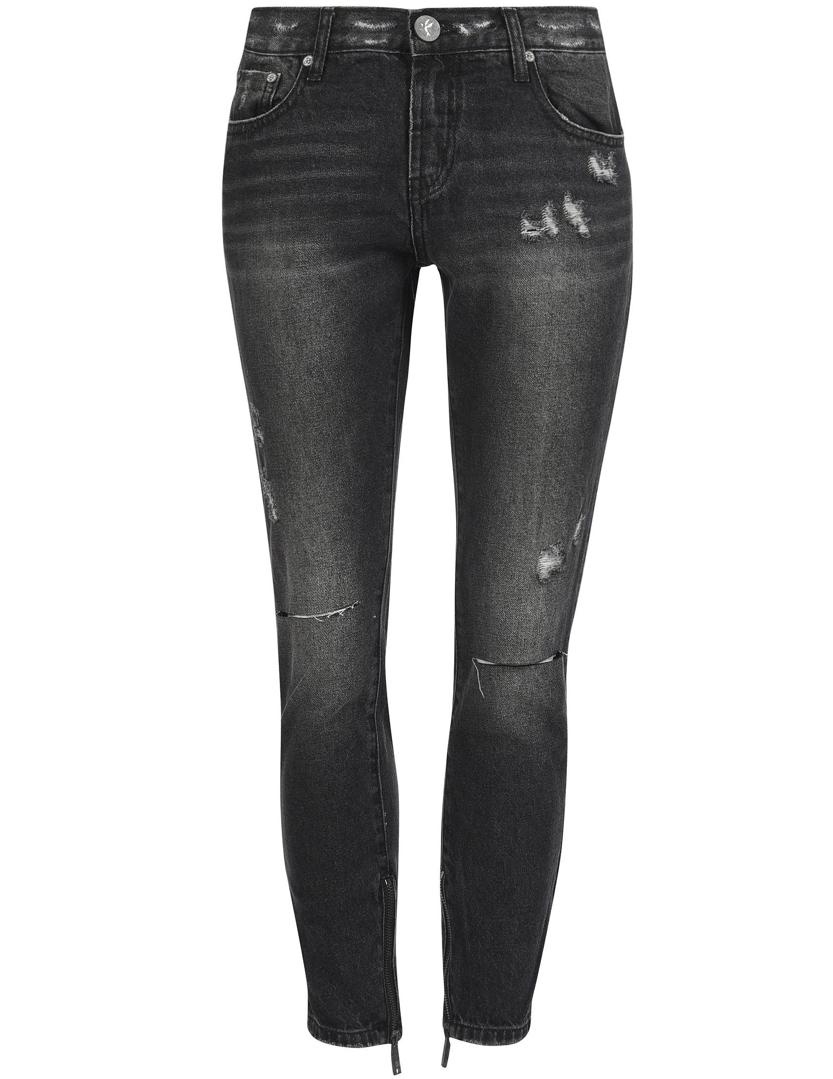 Женские джинсы ONETEASPOON 20958-black