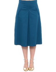 Женская юбка ANONYME P47SS141-petrol