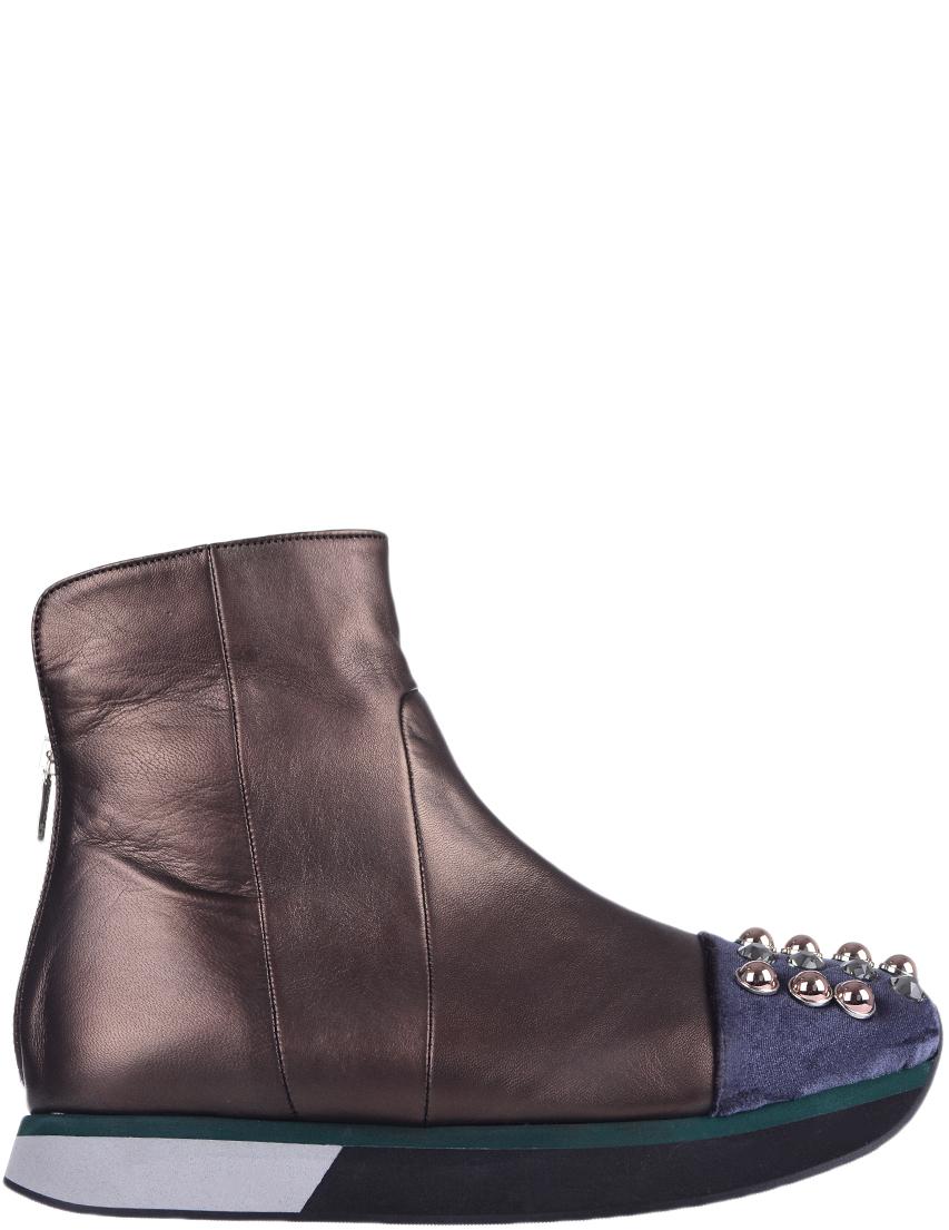 Купить Ботинки, EDDY DANIELE, Коричневый, Осень-Зима