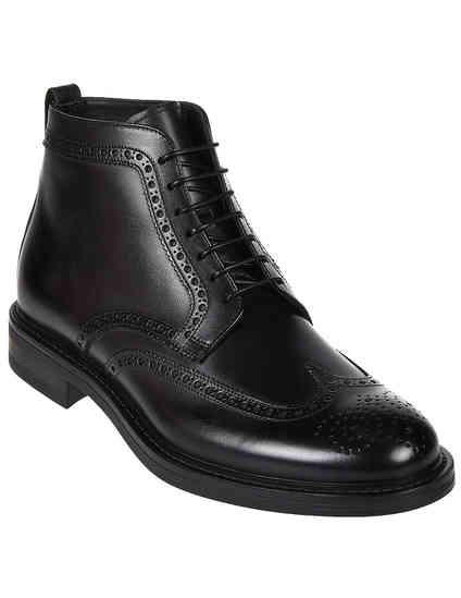 мужские черные Ботинки Franceschetti 3169001 - фото-2