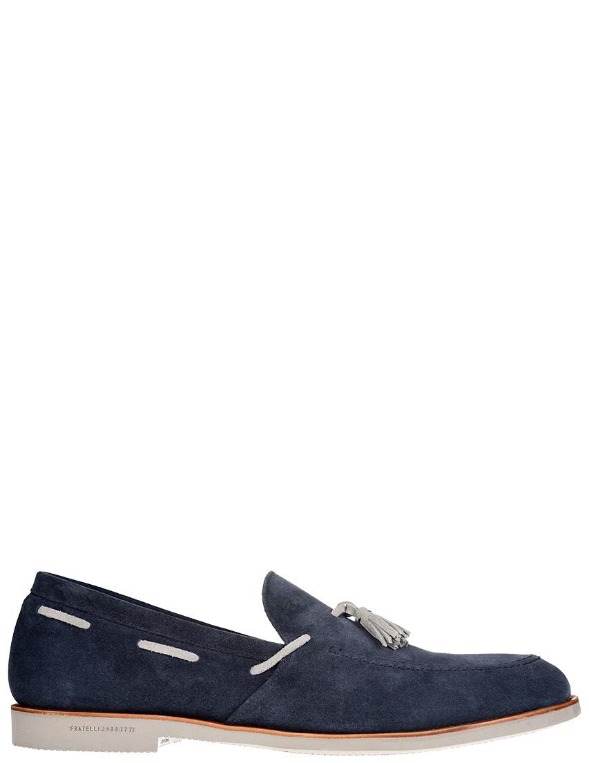 Мужские лоферы Fratelli Rossetti S45236_blue