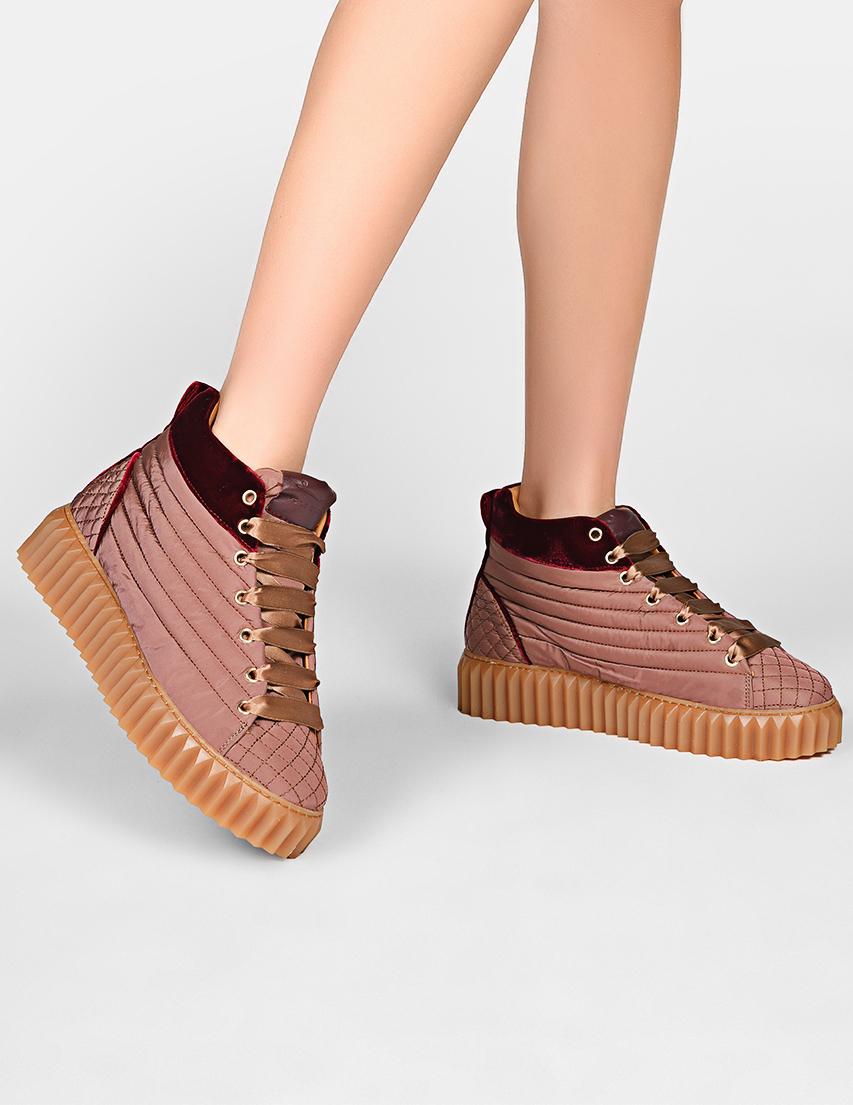 Женские ботинки Voile Blanche 603-pink
