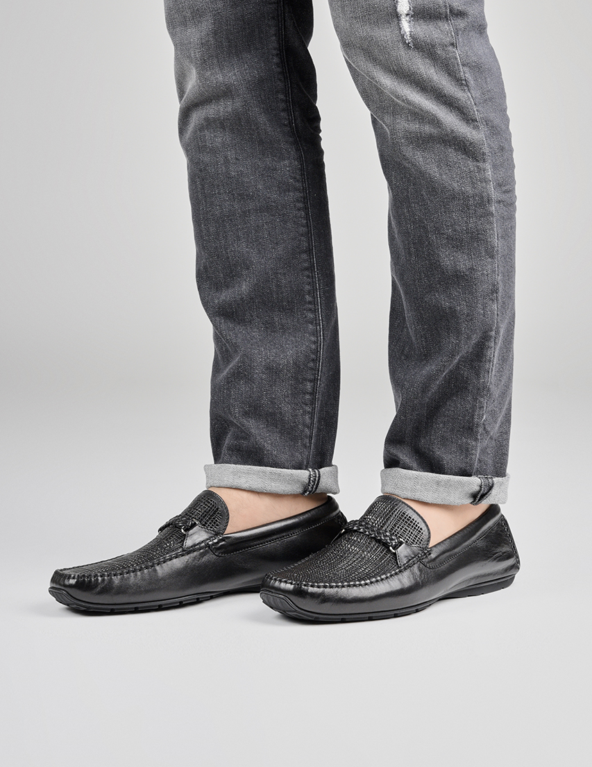 Мужские мокасины Aldo Brue AB077EF-NANE-black