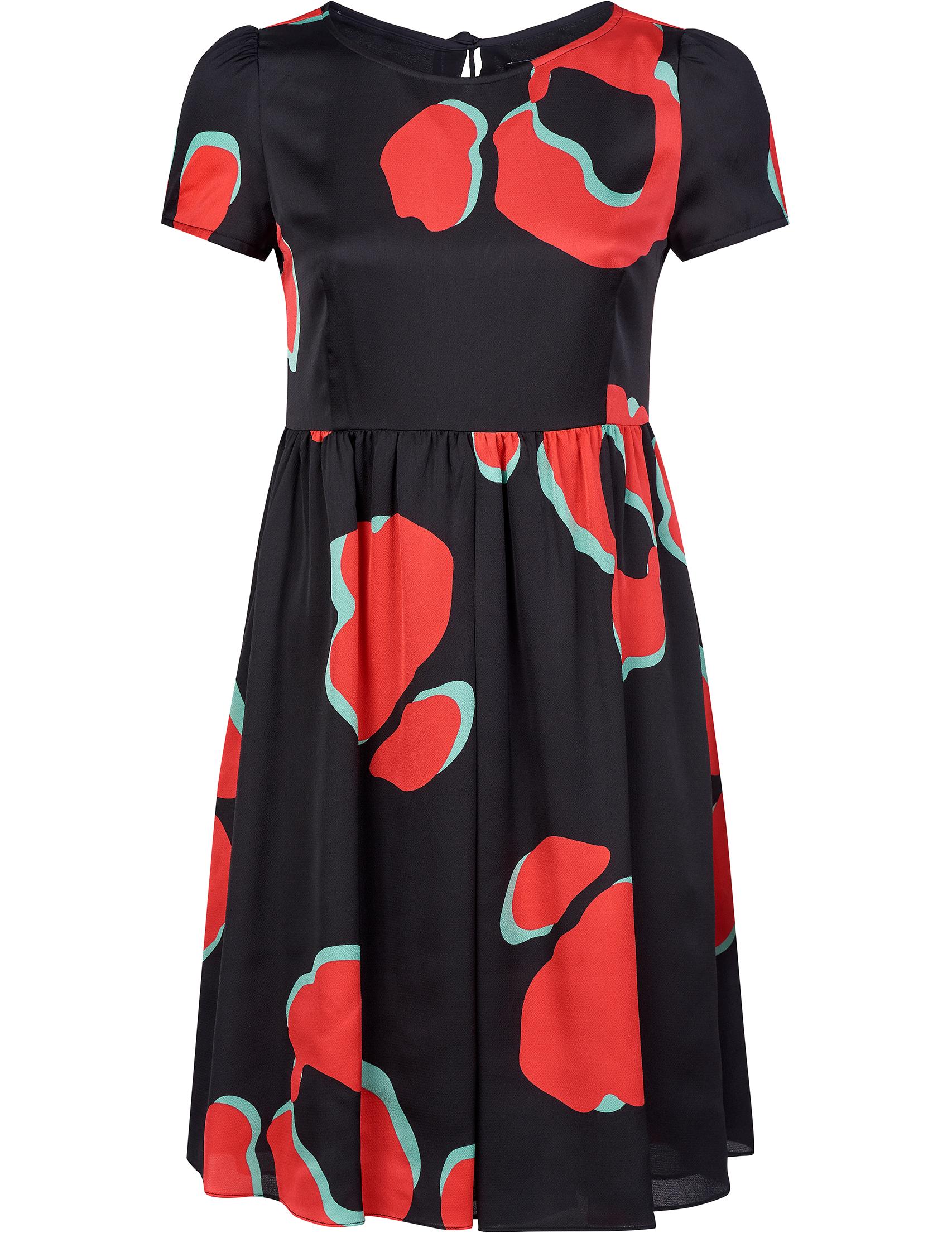 Купить Платья, Платье, EMPORIO ARMANI, Многоцветный, 100%Полиэстер, Осень-Зима