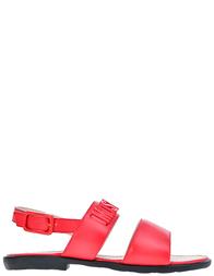 Детские сандалии для девочек Moschino 25864-rosso_red