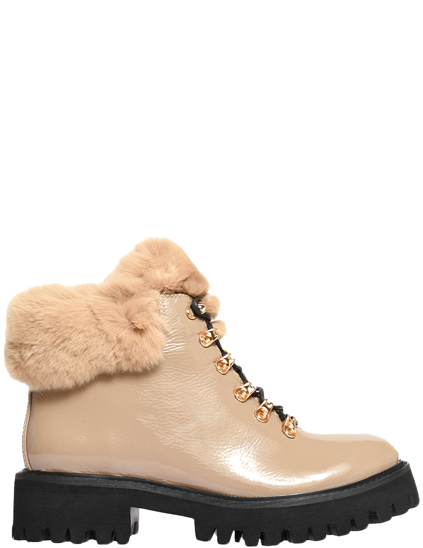 Купить Ботинки, MASSIMO SANTINI, Бежевый, Осень-Зима