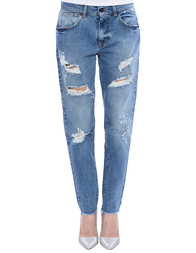 Женские джинсы UP JEANS UWPA0813--denim