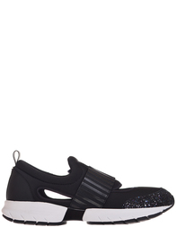 Женские кроссовки Armani Jeans 925181-GOMMA_black