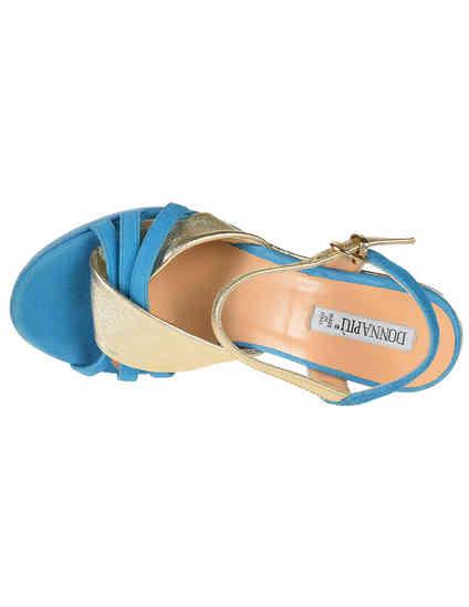 голубые Босоножки Donna Piu 51141_blue размер - 36; 39; 40