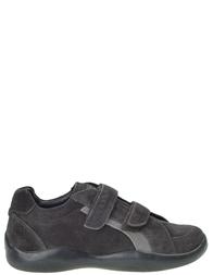 Детские кроссовки для мальчиков PRADA PRA362_gray