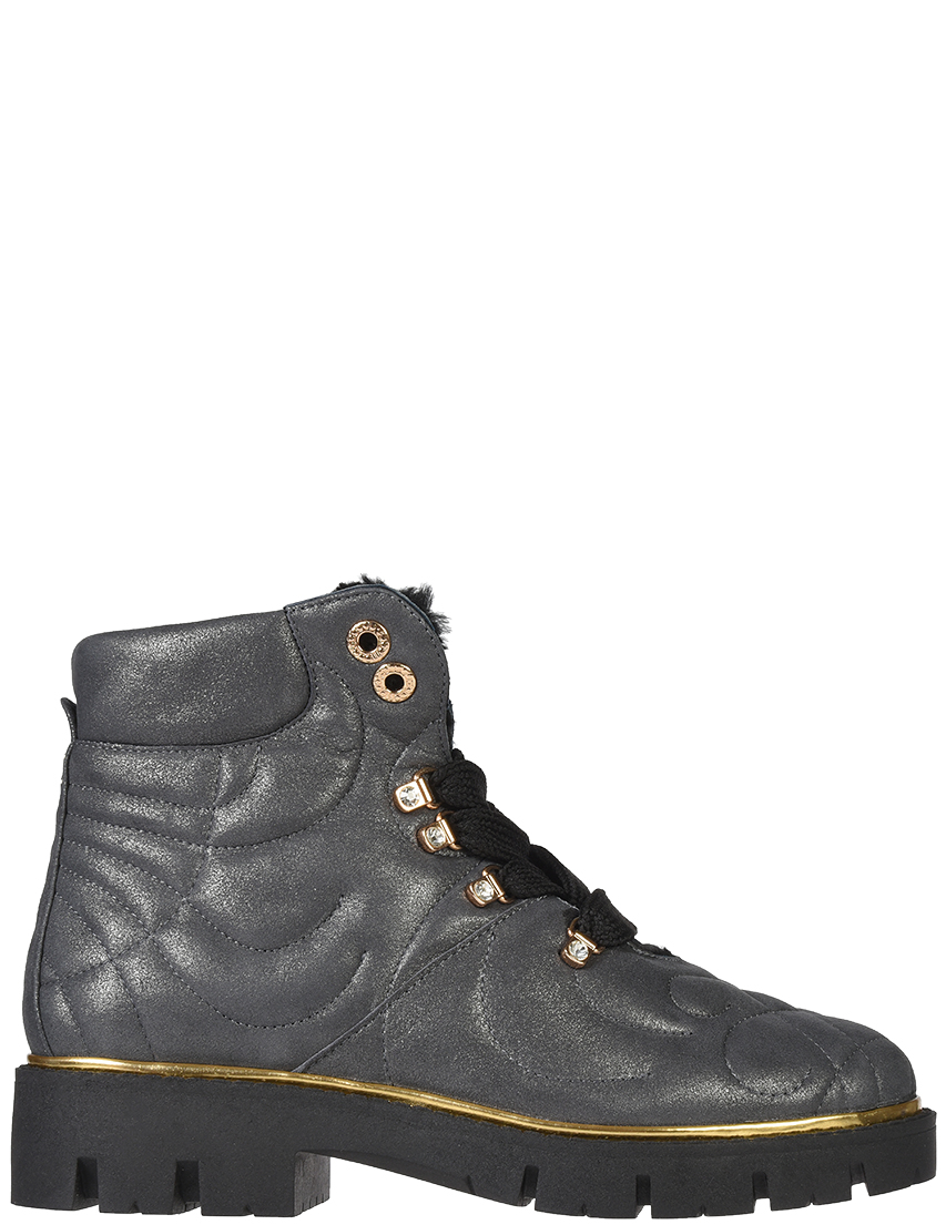 Купить Ботинки, HELENA SORETTI, Серый, Осень-Зима